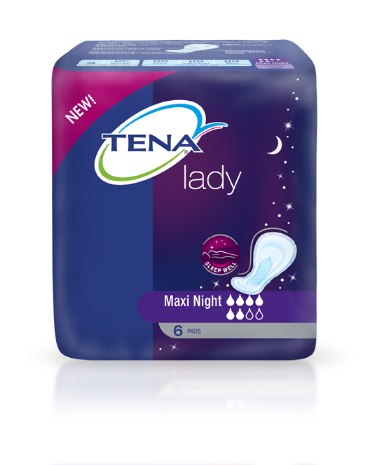 tena lady maxi night pack incontinence blog. Black Bedroom Furniture Sets. Home Design Ideas