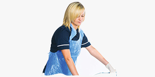 Disposable Plastic Aprons For Adults