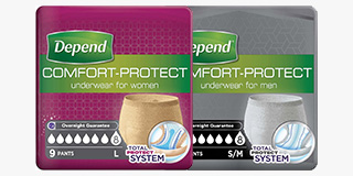 Depend Comfort Protect Pants