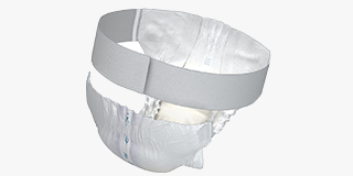 Belted Incontinence Pads