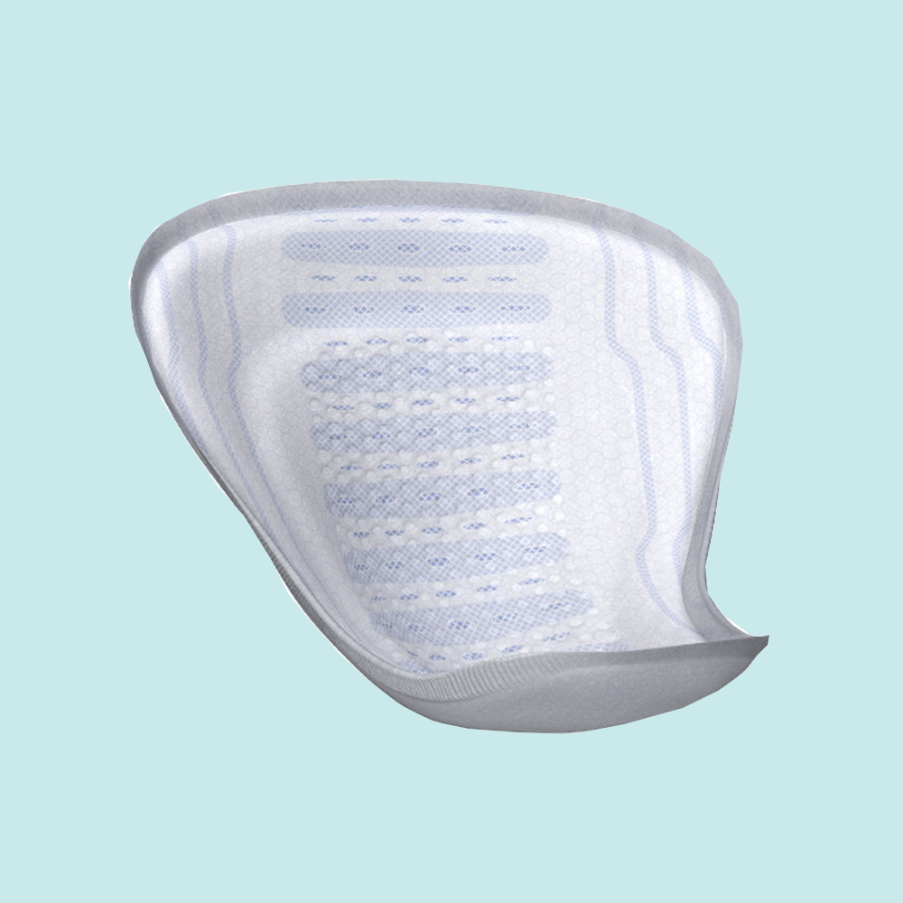 Mens Shaped Incontinence Pads (Light)