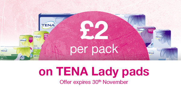 tena lady_2gbp october offer