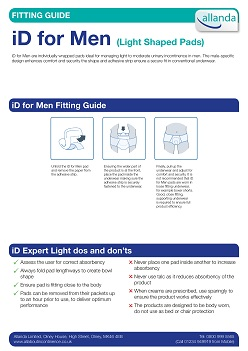 iD For Men fitting guide