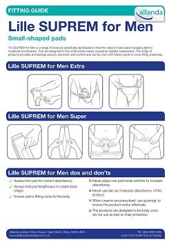 Lille Suprem For Men fitting guide
