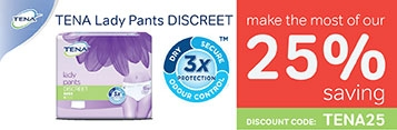 Tena Lady Discreet Offer
